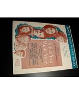 Sheet Music Since You Went Away Selznick Claudette Colbert Joseph Cotton 1944 - $8.99