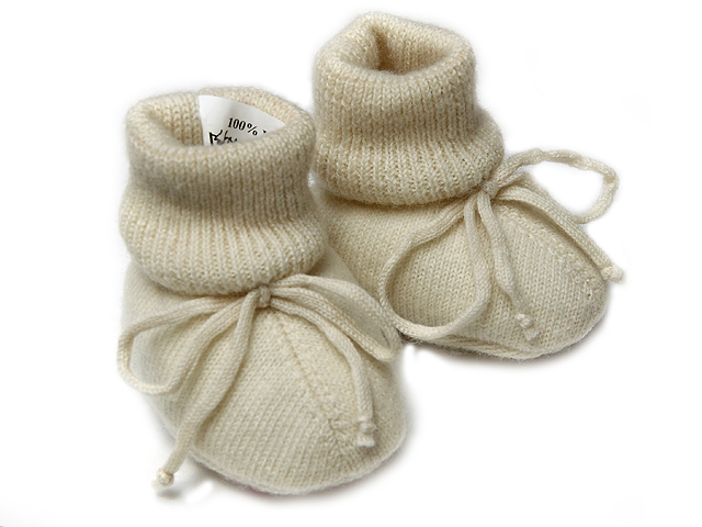 Baby socks (shose) - wool ( 650)