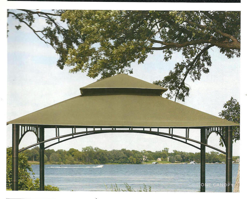 Amazon.com: 10' x 10' Replacement Gazebo Canopy Beige Top Cover