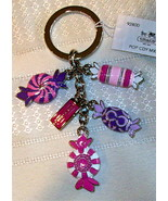 Coach Pop Poppy Candy Mix Keychain Key Fob 92800 NWT  - $69.00