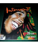 Interview Magazine Nov 1989 Ziggy Marley