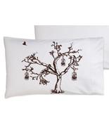 Brown Oak Tree Bird Cage Pillowcase - $11.99