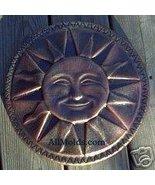 Aztek sun concrete plaster casting wall plaque ... - $22.00