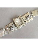 Silver Square Watch Swarovski Crystal Handcraft... - $215.00