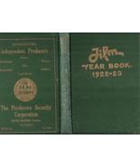 Film Year Book 1922-23 Hollywood Silent Film Mo... - $199.00