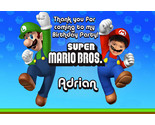 Buy invitation cards - Mario bros. Boys Custom Invitations and cards