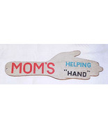 Vintage Wood Spanking Paddle - MOM's HELPING HAND - $25.00