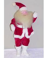 Vintage 1950's Harold Gale Red Velvet Santa Cla... - $75.00