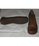 Womens MIA Brown Leather Shoes Size 9M - $22.99