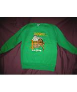 Irish Sweatshirt Vintage 1980'S Kelly Green ! - $18.97
