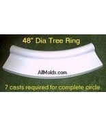 "48"" Tree Ring concrete plaster cement sto... - $35.00"
