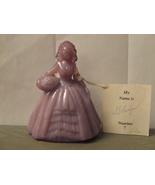 Vintage Boyd Crystal Art Glass Colonial Doll Gl... - $22.95