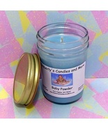 Baby Powder PURE SOY Jelly Jar Candle - $8.00