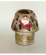 Kirklands Christmas Santa Tea Light Lamp Stonew... - $9.00