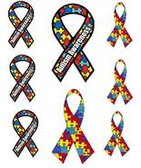8 Autism Awareness Iron On Transfers - $2.99