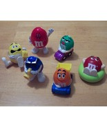 Set of six 1998 Burger King M&M's Minis Candy D... - $5.99