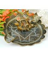 Vintage Brass Damascene Spanish Dragon Galleon ... - $18.95