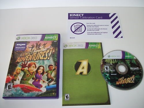 Kinect Adventures XBOX 360 Complete and Perfect Shape!