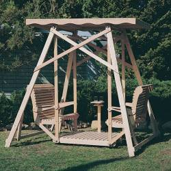 Amazon.com: patio swings with canopy