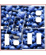 BLUEBERRY KITCHEN DECOR LIGHT SWITCH OUTLET COV... - $8.99