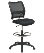 AirGrid Back Mesh Seat Adjustable Round Footrin... - $239.00
