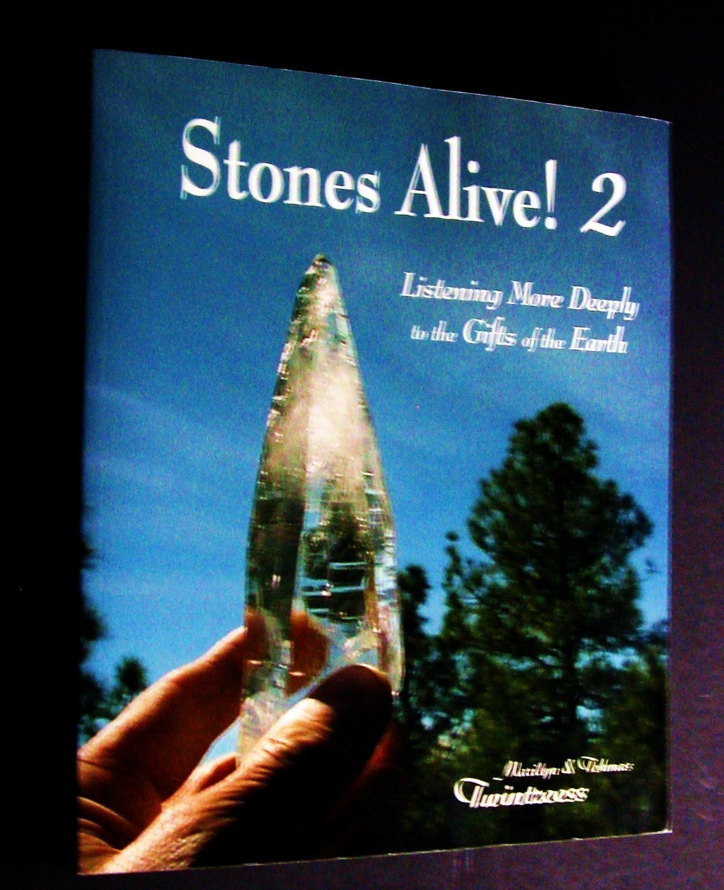 Stones Alive!  2 metaphysical crystal new age alternative holistic healing book