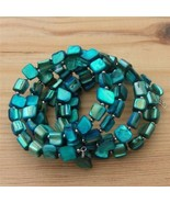 Blue Mother of Pearl Bracelet One Size Fits All - $16.99