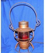 Dressell Railroad Lantern Lamp Vintage Electrif... - $55.00