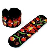 Childrens Slap and Snap Bracelet Butterfly Hand... - $7.99
