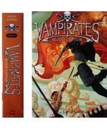 Vampirates 3: Blood Captain by Justin Somper 1s... - $7.00