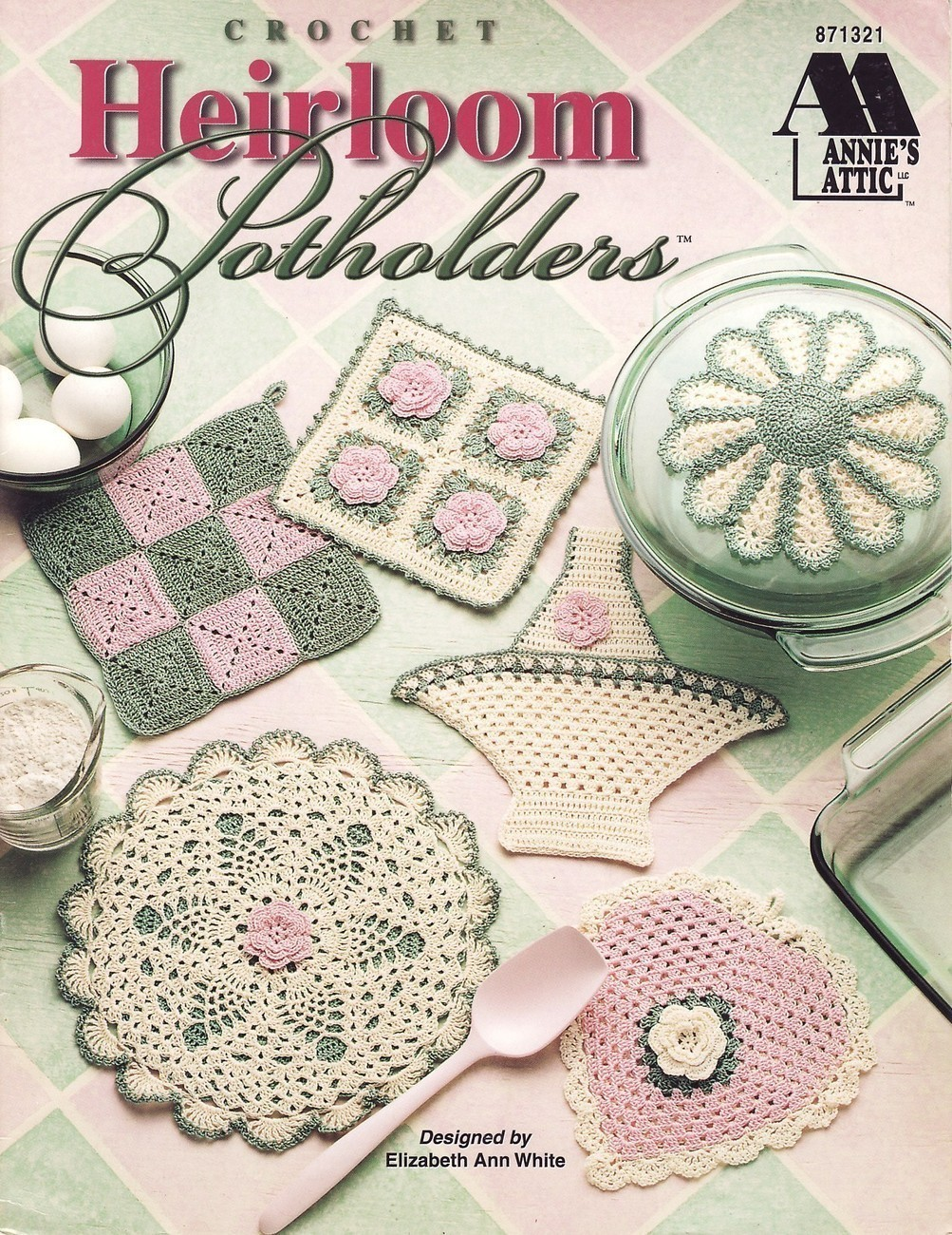 Cute Crochet Chat Patterns: Heirloom Pillow