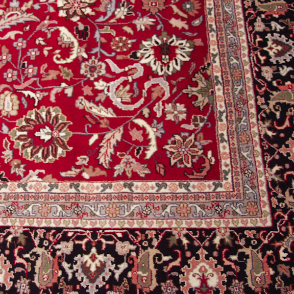 RRA 12x18 Rug Indo Persian All Over Field Red Rug 33800
