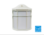 Buy Lighting - Exterior Wall Mount Lighting Fixture, White Finish