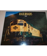 12 Railroad Train Pictures Calendar for Rail or... - $9.99