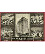 NEW YORK NY Hotel Taft Multi view postcard BJs - $7.00