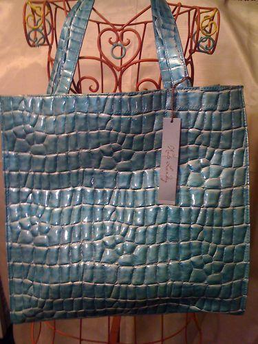 Kate Landry Turquoise Tote Bag - Handbags & Bags