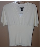 Ladies Knit Top Size Large Petite ~ New~ - $16.75