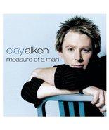 Clay Aiken Measure of a Man CD 2003 - $2.50
