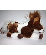 Aurora Brown White Pony Horse Plush stuffed Ani... - $9.96