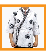 sushi chef coat jacket women men uniform chefwe... - $22.50