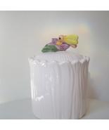 Lefton China Honey Bee Sugar Bowl or Jar with Lid - $12.00