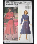 Butterick sewing pattern 6312 Ronnie Heller Dre... - $3.75