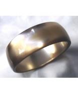 Vintage Lucite Golden Bronze Bracelet  Metallic... - $22.00