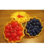 CANDLE Fruit Pies, Assorted Fruit Scents - Aromotherapy