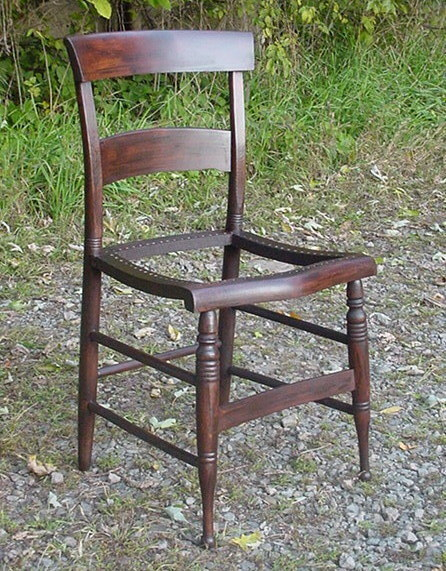 empire dining chairs c1840 RESTORED grained in rosewood