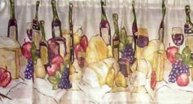 kitchen curtains wine | eBay - Electronics, Cars, Fashion