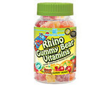 Buy Nutrition - Nutrition Now Just For Children - Rhino Veggie-Fruit Bears,