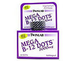 Buy Vitamins - TwinLab Vitamin B Mega-B Dots 5,000 mcg, Cherry Flavored 60