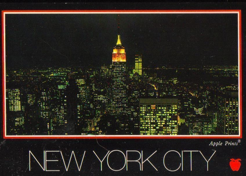 New York City, New York  RPPC Postcard Uncirculated