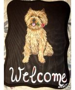 Cairn Terrier Dog Custom Painted Welcome Sign P... - $35.00